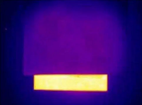An inexpensive easy-to-produce film that makes objects completely   invisible to infrared detectors